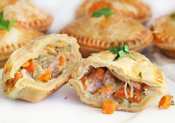 Photo of Panbury's fresh baked Country Chicken Hand Pies