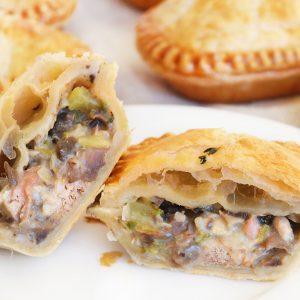 Photo of Panbury's fresh baked Chicken & Mushroom HandPies
