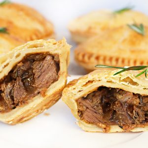 Photo of Panbury's fresh baked Steak & Stout Hand Pies