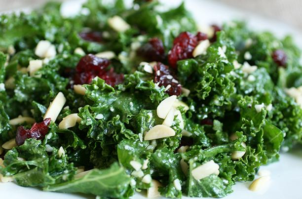 Photo of Panbury's kale salad with lemon vinaigrette