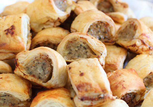 Sausage Rolls in Bite size piece